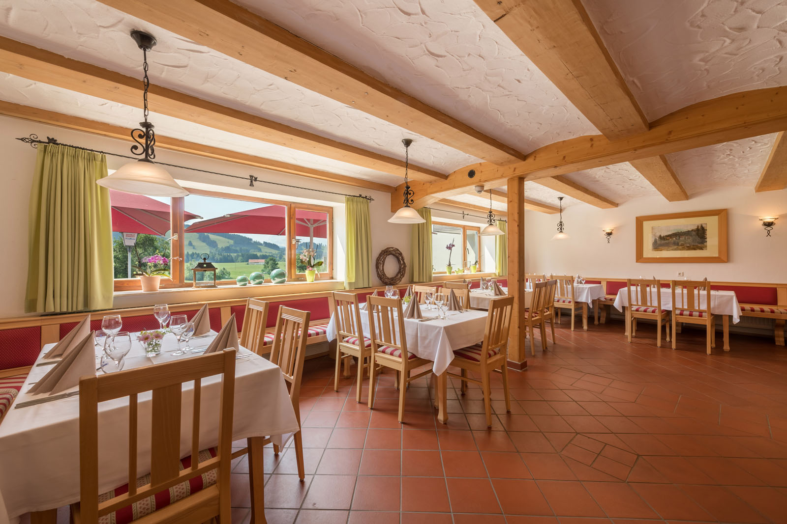 Delicious food in the Allgäu restaurant